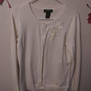 Eddie Bauer long sleeve cardigan sweater